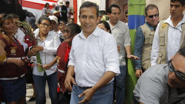 Humala comparó a Abimael Guzmán con 'Robin Hood'