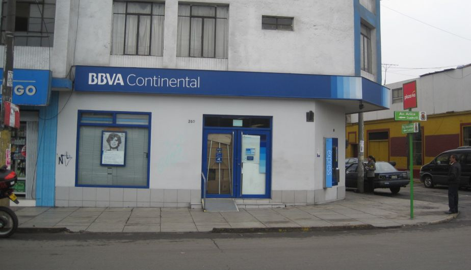 Hampones intentaron asaltar agencia bancaria en Breña