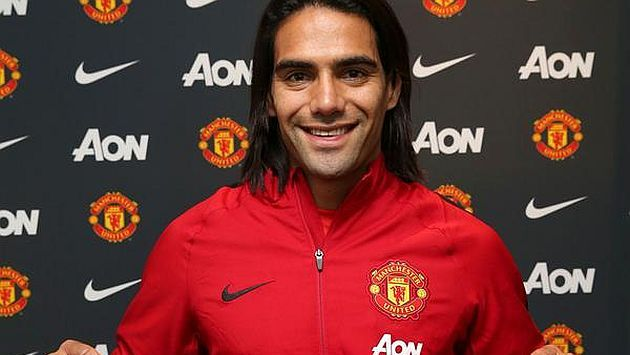 Manchester United confirmó préstamo de Radamel Falcao