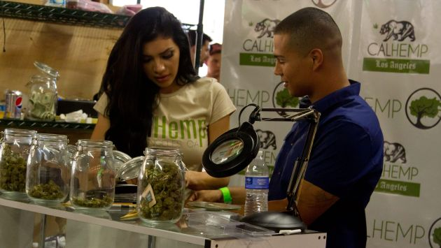 Son más felices consumiendo cannabis. (EFE)