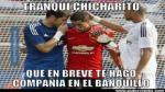'Chicharito' Hernández y los memes por su fichaje en el Real Madrid - Noticias de