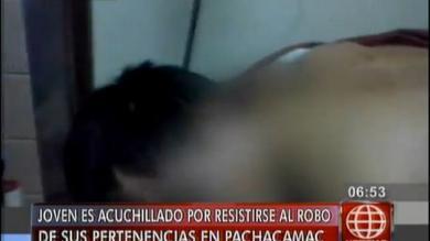 Inseguridad ciudadana, Pachacámac