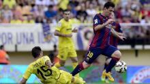 Villarreal, Liga BBVA, Barcelona vs Cartagena