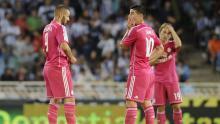 Real Madrid, Liga española, Real Sociedad