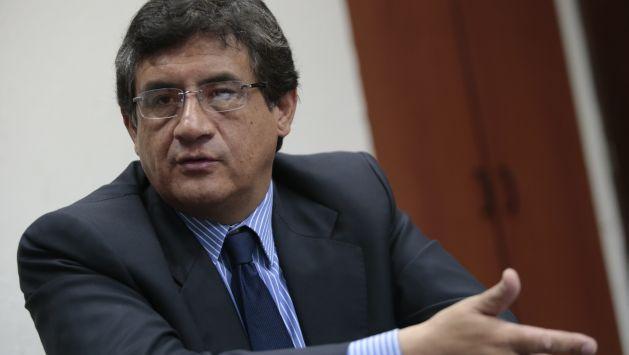 Juan Sheput pide al congresista José León que retirse su militancia del partido Perú Posible mientras durante las investigaciones en su contra. (César Fajardo)