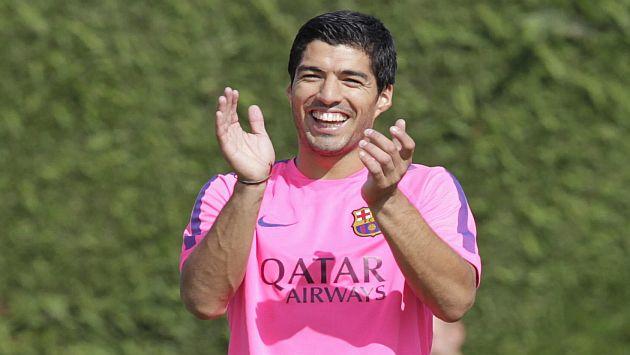 Suárez ya jugó con el Barcelona en un amistoso contra el León de México. (EFE)