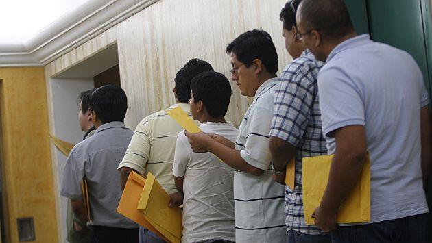Tasa de desempleo en Lima Metropolitana subió 0.3 puntos porcentuales a un 5.9%. (USI)