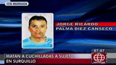 Asesinato, Drogas, Inseguridad ciudadana, Surquillo