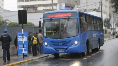 Miraflores, Protransporte, Corredor Azul