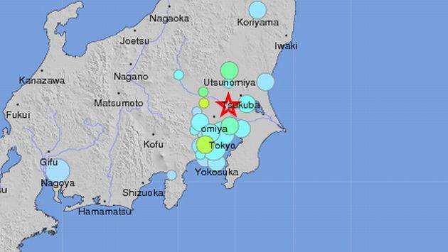 El hipocentro del temblor se situó a unos 50 kilómetros de profundidad. (USGS)