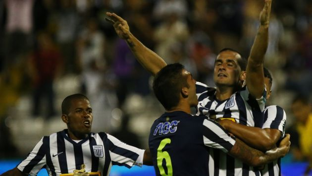 Alianza Lima le ganó 2-1 a Inti Gas en Matute