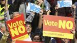 Escocia: Londres promete más autonomía si gana el