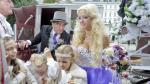 Cathy Schmitz, 'conejita' de Playboy, se casó con magnate de 81 años - Noticias de baile del caballo