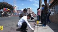 Ocurrió en la calle Sáenz Peña. (Radio Santo Domingo)