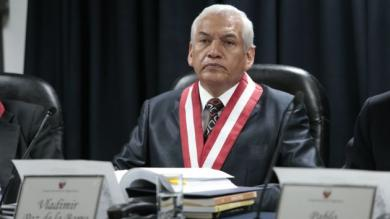 Vladimir Paz de la Barra renució de forma irrevocable al CNM. (César Fajardo)