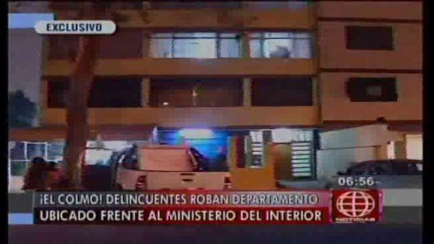 San isidro roban vivienda ubicada frente al ministerio for Ministerio del interior peru