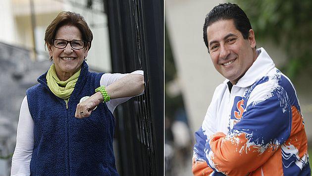 Familiares cercanos de los candidatos sacaron sacaron cara por ellos. (Perú21)
