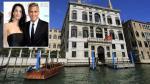 George Clooney se casará en lujoso hotel junto a canal de Venecia, aseguran