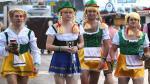 Oktoberfest 2014 arrancó con mucha cerveza y belleza [Fotos] - Noticias de meones en la calle