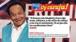 ¡Uy curuju!: Estas son las 10 frases políticas de la semana - Noticias de top10