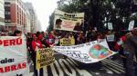 Nueva York: Delegación peruana participó en marcha contra cambio climático