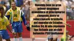 Ronaldo: 9 datos del crack brasileño a propósito de su cumpleaños