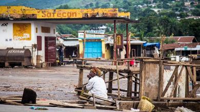 Fotos, Epidemia, Toque de queda, Sierra Leona, Ébola