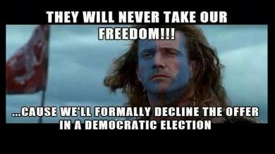 Reino Unido, Escocia, Referendum, William Wallace, Independencia de Escocia