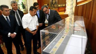 Ollanta Humala, Palacio de Gobierno, Metro de Lima, Línea 2