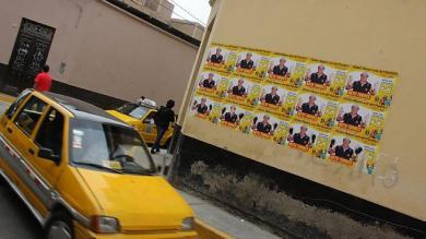 Lambayeque, Propaganda electoral