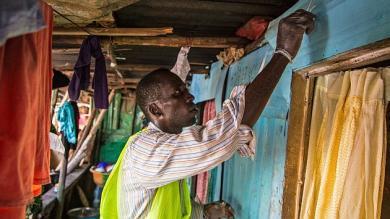 OMS, Fotos, Epidemia, Toque de queda, Sierra Leona, Ébola
