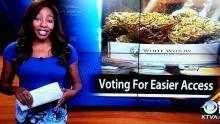 Estados Unidos, Marihuana, Alaska, Legalización de la marihuana, Reportera de TV, Charlo Greene