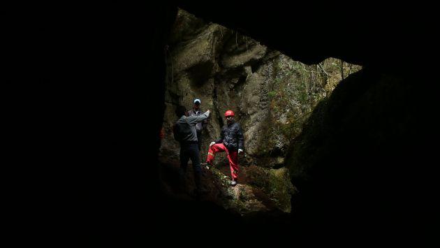 Cueva es de difícil acceso. (Alessandro Currarino/USI)