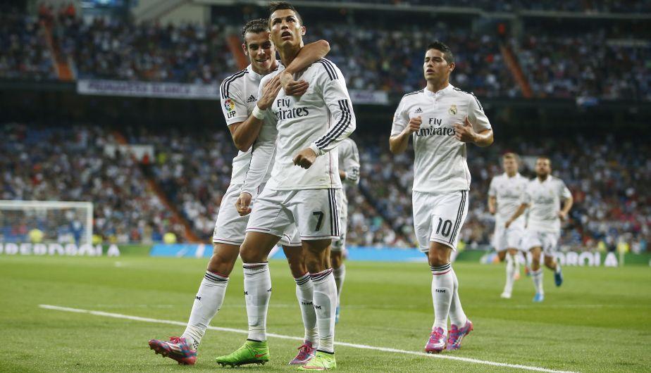Real Madrid aplastó 5-1 al Elche con un 'póker' de Cristiano Ronaldo. (AP)