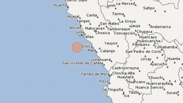 Temblor ocurrió esta mañana. (IGP)