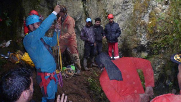 Cueva es muy agreste. (EFE)