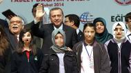 Se acabó veto al velo islámico en escuelas de Turquía. (AFP)