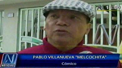 Melcochita, Pablo Villanueva