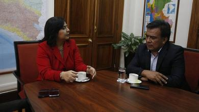 Ana Jara, Javier Velásquez Quesquén