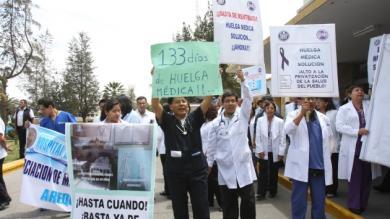 Huelga médica