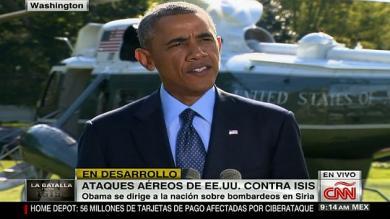 Barack Obama, Estado Islámico