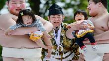 Japón, Bebés, Luchadores de sumo, Tradición japonesa