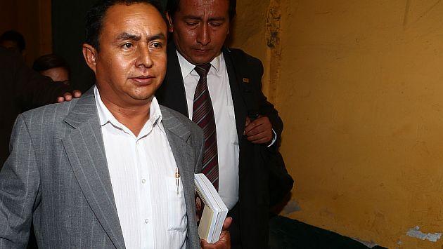 Santos se encuentra en prisión preliminar. (Rafael Cornejo/Perú21)