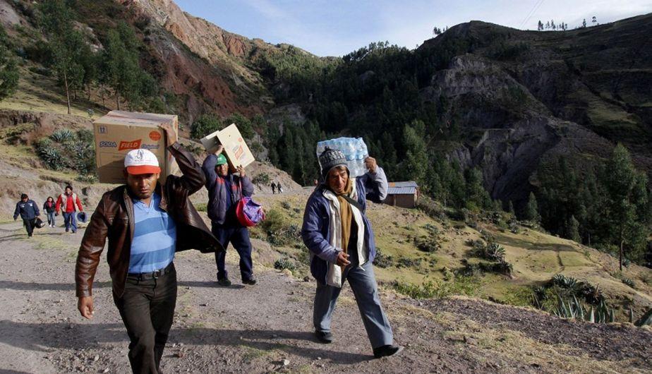 Cusco, Sismo, Movimiento telúrico, Paruro, Misca