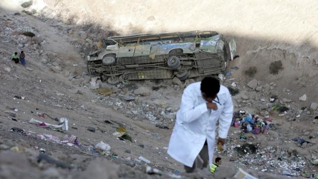 Al menos 7 muertos tras despiste de camión a abismo en Cusco. (USI/Referencial)