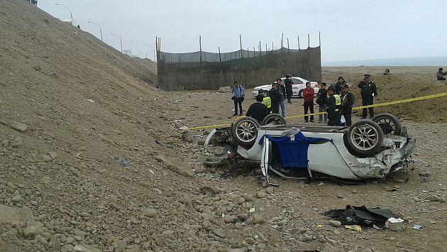 Hija adolescente de Carlos Burgos murió en accidente en San Miguel