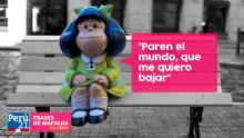 Aniversario, Mafalda, Frases