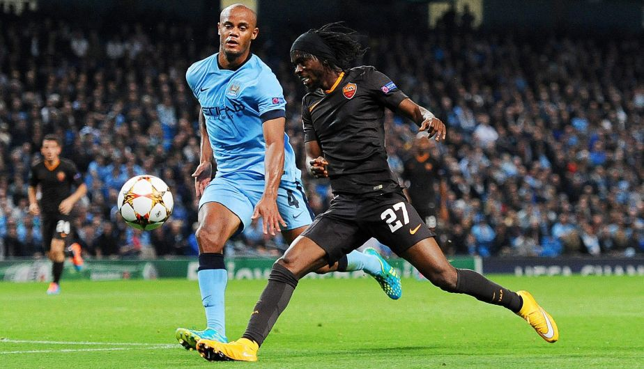 Champions: Manchester City igualó 1-1 con AS Roma