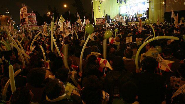 Candidatos a la Alcaldía de Lima se alistan para cerrar sus campañas. (USI)