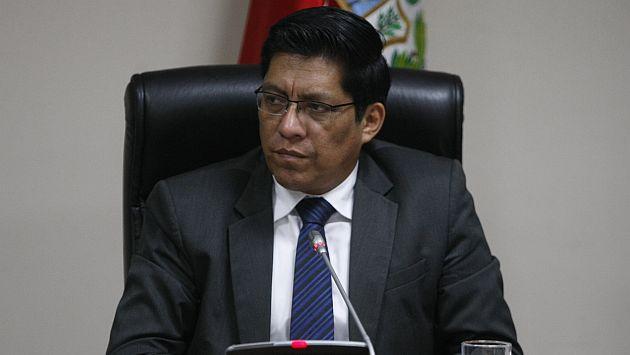 Vicente Zeballos espera la aprobación de su proyecto de ley para que sentenciados no puedan postular a cargos públicos. (Mario Zapata)